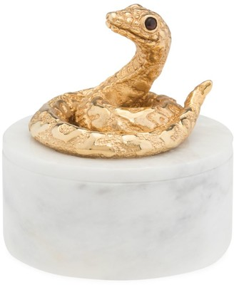 Jay Strongwater Composition Snake Box