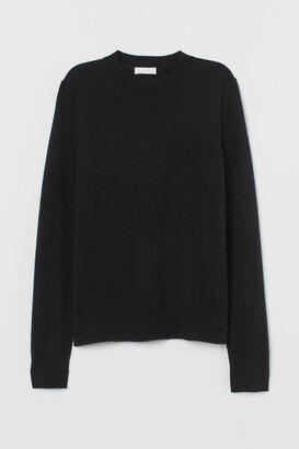 H&M Cashmere Sweater - Black