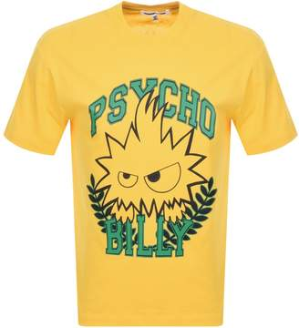 McQ Logo T Shirt Yellow
