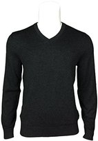 HUGO BOSS Ermanno Mens Wool and Cotton Sweater (Grey
