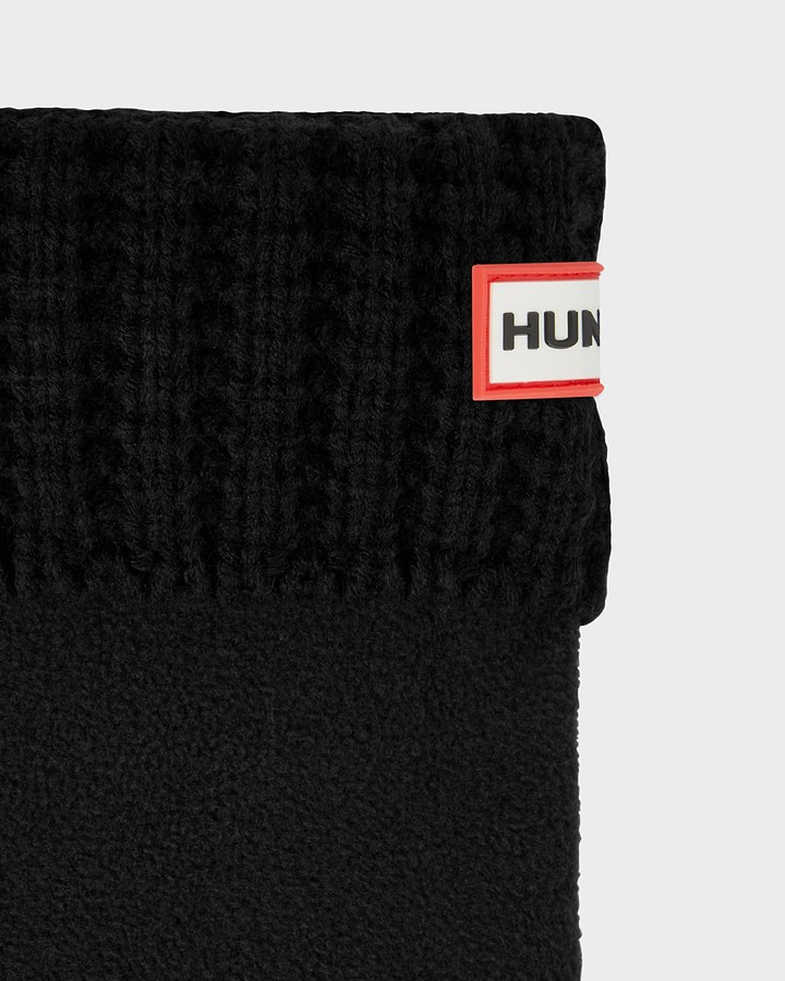 Thumbnail for your product : Hunter Original Waffle Cuff Short Boot Socks