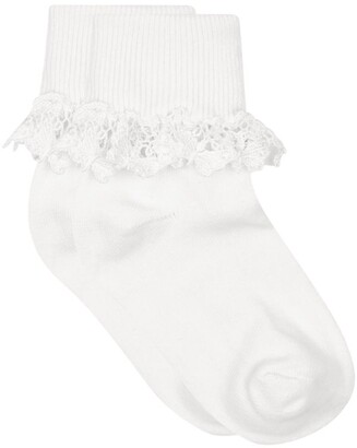 Country Kids Butterfly Lace Socks