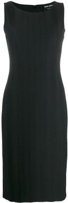 Giorgio Armani Sleeveless Sheath Dress