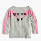 J.Crew Girls' T-shirt in flamingos print