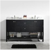 "Vinnova Florence 60"" Double Bathroom Vanity Set Base"