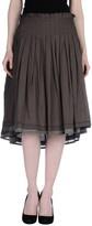 Peserico Knee length skirts