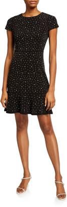 MICHAEL Michael Kors Flower Flounce Dress