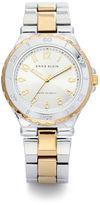 Anne Klein Classic Two-Tone Link Bracelet Watch
