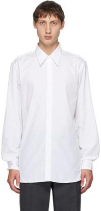 Dries Van Noten White Straight Shirt