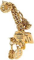One Kings Lane Vintage Chanel Seals & Tags Charm Bracelet