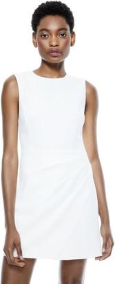 Alice + Olivia Kelsey Asymmetrical Mini Dress