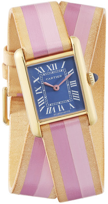 La Californienne Small Cartier Tank Wrap Strap Watch