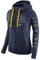 Nike Women's Tampa Bay Rays Gym Vintage Full-Zip Hooded Sweatshirt