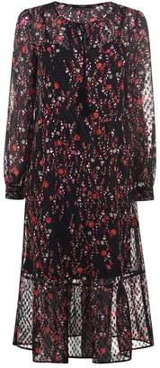 SET Floral Sheer Dress
