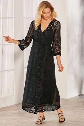 Soft Surroundings Tosca Crochet Dress & Slip