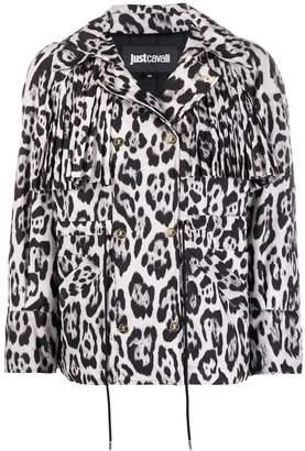 Just Cavalli leopard print jacket