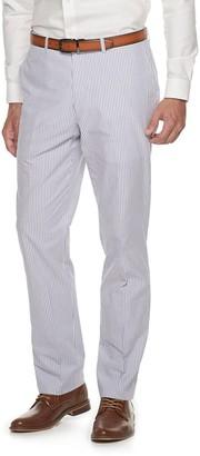 Kroon Men's Andrew Active Inspired Movement Modern-Fit Seersucker Suit Pants