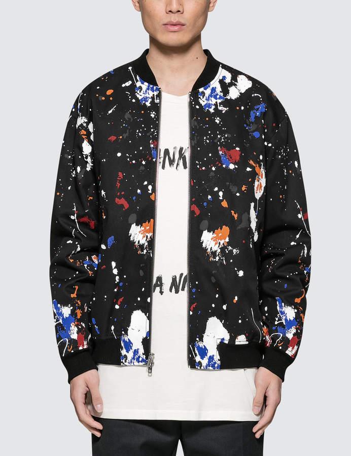 3.1 Phillip Lim Classic Painted Bomber Jacket