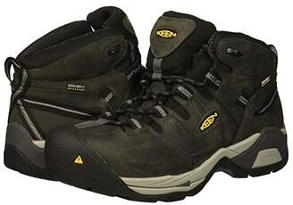 Keen Detroit XT Mid Steel Toe Waterproof (Magnet/Paloma) Men's Work Boots