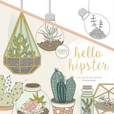 "Kaisercraft KaiserColour Perfect Bound Coloring Book 9.75""X9.75""-Hello Hipster"