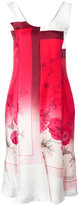 Salvatore Ferragamo floral degrade dress - women - Silk/Acetate - 42