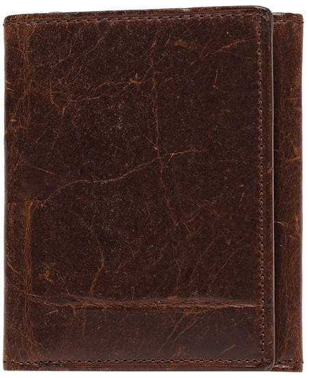 Moore & Giles Fine Leather Tri-Fold Wallet