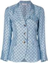 Alberto Biani floral pattern blazer