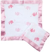 Aden Anais Aden by aden + anais 2 Pack Muslin Security Blanket, Girls And Swirls