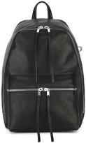 Rick Owens zipped backpack - women - Calf Leather/Lamb Skin - One Size