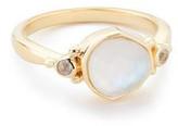 Margaret Elizabeth - Muir Ring Pearl Quartz