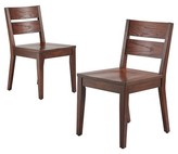 Threshold Parsons Slat Back Dining Chair - Espresso (Set of 2