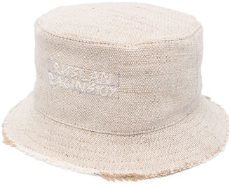 Ruslan Baginskiy Stitched-Logo Bucket Hat