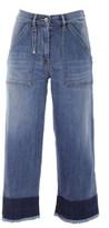 Patrizia Pepe Women's Blue Cotton Jeans.