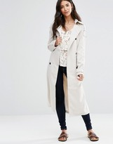 Vila Emmely Long Trench Coat