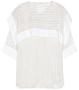 Chloé Silk and cotton top