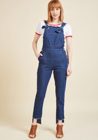 ModCloth A Rustic Reimagining Overalls in L