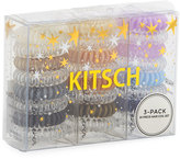 Neiman Marcus Kitsch Three-Pack 24-Piece Assorted Hair Coil Gift Set, Multi