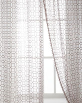 "Softline Home Fashions Each 53""W x 96""L Palazzo Sheer"