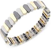 Nine West Tri-Tone Stretch Bracelet