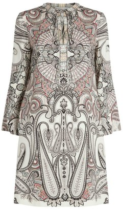 Etro V-Neck T-Shirt Dress