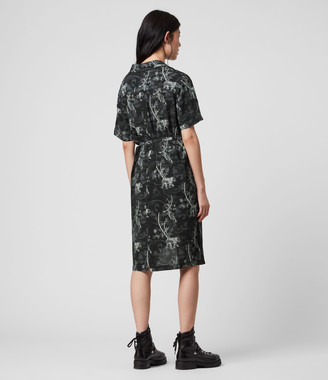 AllSaints Athea Strength Dress