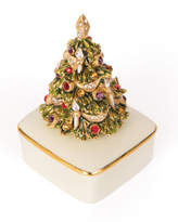 Jay Strongwater Porcelain Christmas Tree Box