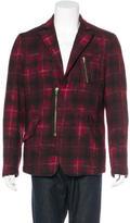Raf By Raf Simons Plaid Flannel Jacket