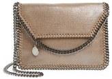 Stella McCartney 'Mini Falabella' Faux Leather Crossbody Bag - Brown