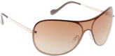 Jessica Simpson Women's J5368 Wide Sunglasses