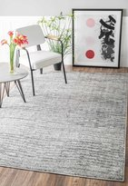 nuLoom Contemporary Solid Polypropylene Rug