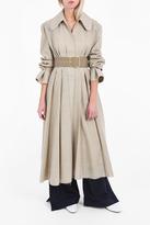 Jacquemus Long Flounce Cuff Coat