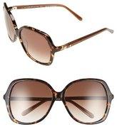 Kate Spade 'jonell' 58mm Oversized Sunglasses