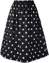 Comme des Garcons polka dot skirt - women - Polyester - S