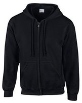Gildan Men's Fleece Zip Hooded Sweatshirt